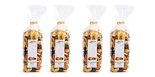 Nuss-Frucht-Mischung bio 4x 250 g LEUCHTENDES GOLD