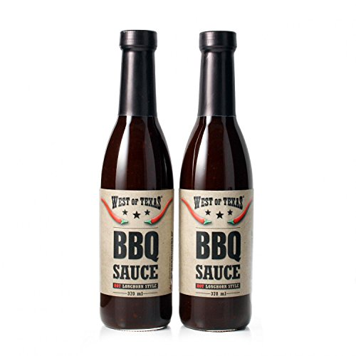West of Texas Smoky BBQ Sauce 2er Set