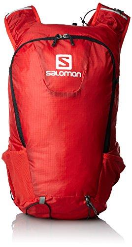 Salomon Skin PRO 15 - Mochila 15L, 40x18x17 cm, rojo/negro