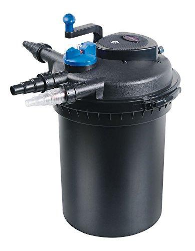 AquaOne CPF 10000 Bio Druckteichfilter 12000l Teichfilter Bachlauf inkl.11 Watt UVC Klärer Druckfilter