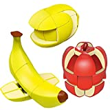 Fruit Magic Speed Cube Set 3 Pack Stickerless...