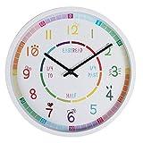 Semoic Stille Wanduhr Uhr für Zuhause Wohnzimmer Küche Schlafzimmer Dekoration Wanduhr Modern...