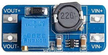 HARIKA - MT3608 DC DC Step Up Adjustable Converter Booster Power Supply Module Output 2A