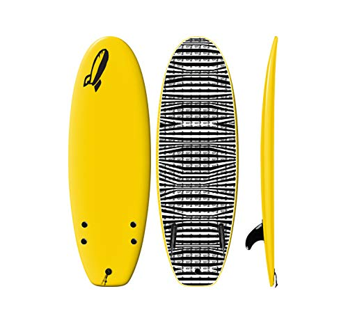 Rock-It 4'11' CHUB Surfboard (Yellow)