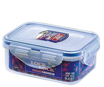 Lock & Lock Stackable Airtight Container Rectangular 350ml from Lock n Lock