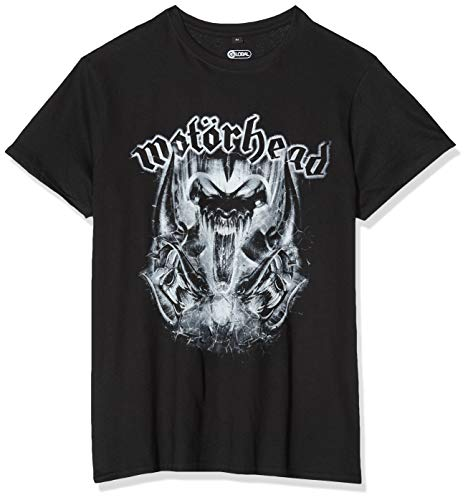 MERCHCODE Herren Motörhead Warpig T-Shirt, Black, XL