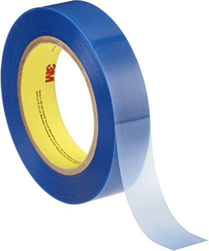 3M Nastro Adesivo per Verniciatura a Polvere 8902, 19, 1mm X 66 m, 0.09mm, 48Pezzi, Blu