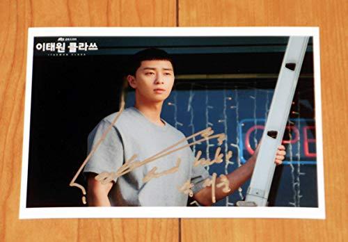 パク・ソジュン 韓国ドラマ「梨泰院クラス」中型スチール写真1 直筆サイン