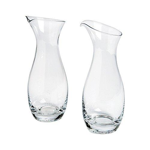 Pitcher Shaped Glass Sand Ceremony Jars (Set of 2) Wedding Supplies