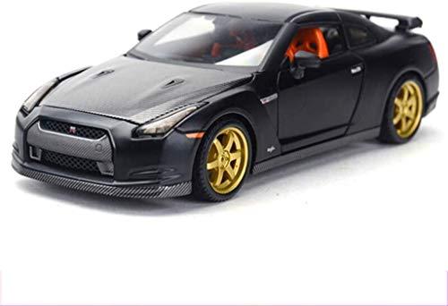 Model auto's Model Car 1:24 2009 Nissan GT-R legering Car Model Simulatie Children's speelgoed auto Boy Alloy automodel for kinderen om te verzamelen Gift decoratie vakantie lili