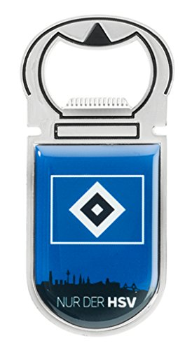 Hamburger SV HSV Flaschenöffner Magnet Skyline