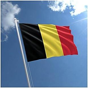Large 5'x3' Belgium Flag Premium Quality Belgians Supporter Fans Decoration Flag:Peliculas-gratis