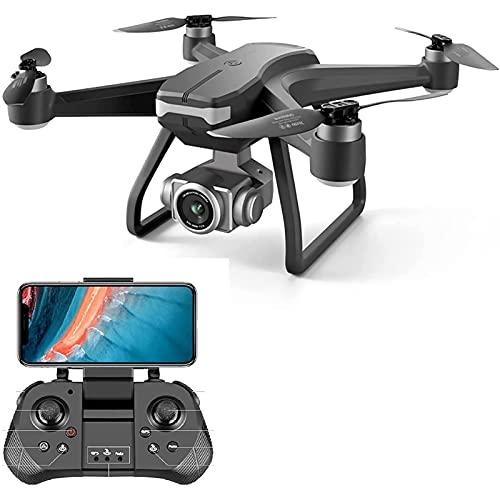 CHENGLONGTANG Deformation Toy GPS Drone 4K ESC HD Telecamera 5G WiFi FPV Selfie RC Quadcopter, Drone Pieghevole Ultraleggero, Motore brushless, UAV Smart Segui, condivisione di Immagini e Video