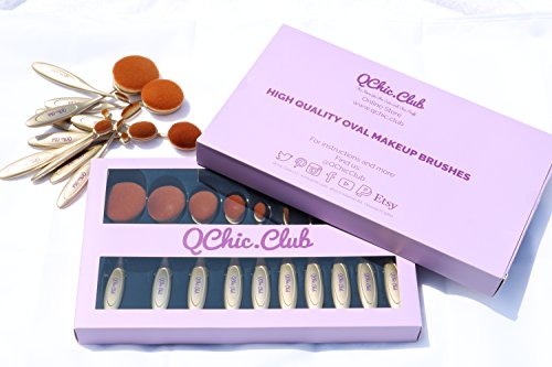 Oval Brush Set of 10 pieces Black Friday/Cyber Monday SALE