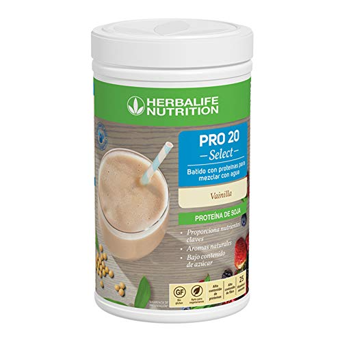 Herbalife - Batido de Proteina Pro20 Select sabor a Vainilla 630 g