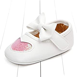 Baby Products Autumn Baby Girl Soft Soled PU Shoes Infant Walking Dress Cradle Walking Shoe, Size:11cm(Black) Baby Product...