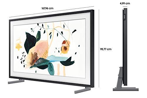 Samsung QLED 4K The Frame 189 cm (75 Zoll) (Art Mode, QLED-Technologie, Active Voice Amplifier) [Modelljahr 2020]