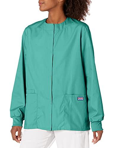 Cherokee Women's Warm Up Scrubs Jacket, Surgical Green, XX-Large