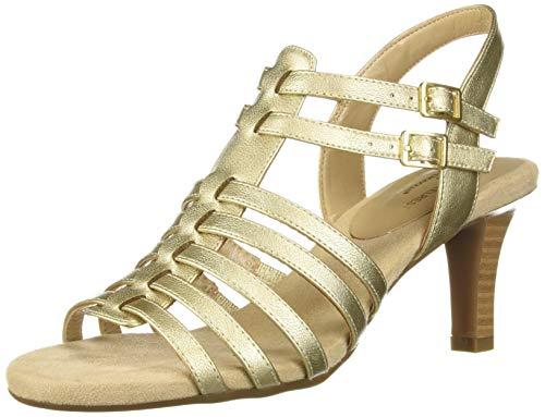 Aerosoles Damen-Sandale, Gold (metallic-goldfarben), 39.5 EU