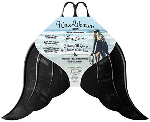 Mahina Adulto De Sirena Merfin Clásico Swim Mono-Fin Disfraz, Naranja, Adult M