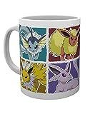 GB eye MG1964 LTD, Pokemon, Eevee Evolution, Mug, Wood, Various, 15 x 10 x 9 cm