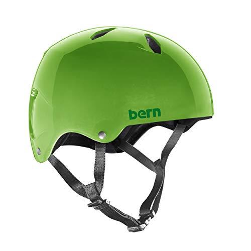 Bern - Casco Infantil para Bicicleta - Modelo Diablo - Verde Neón...