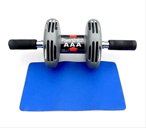 YYhkeby NO Logo Ab Bauch Roller Rad Bauchtrainer Rad-Rolle Set Rebounding Abdominal Rad Stille Brust Ausbildung Fitnessgeräte Jialele (Color