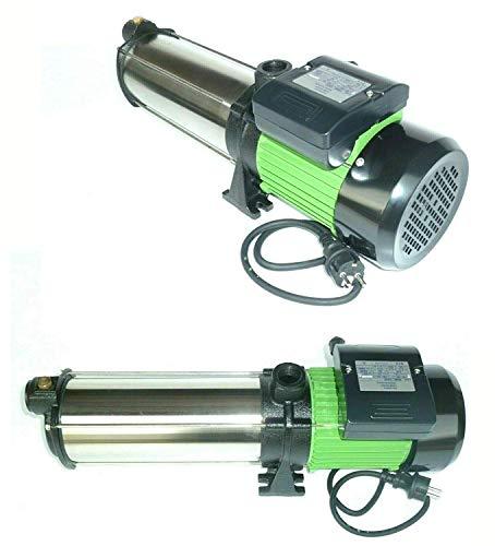 !!Top!! Gartenpumpe Kreiselpumpe INOX HMC 220SC 2200 Watt Förderhöhe: 110 m Max. Druck: 11 bar Max. Fördermenge: 9000 L/h - 150 L/min.