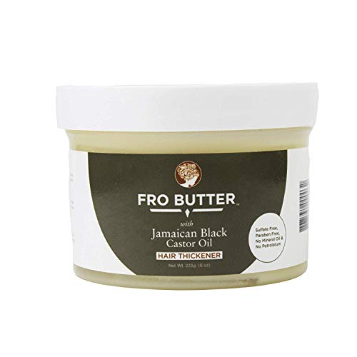 Fro Butter Jamaican Castor Oil Hair Thickener Treatment, Nourishing Extracts...