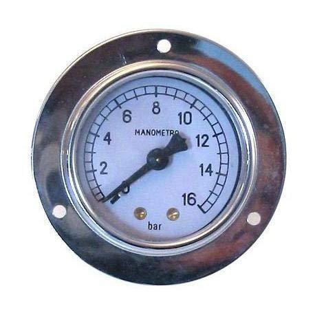 Buy Discount Faema E61 Pump Pressure Gauge 52 mm 0-163 Bar 3781135801