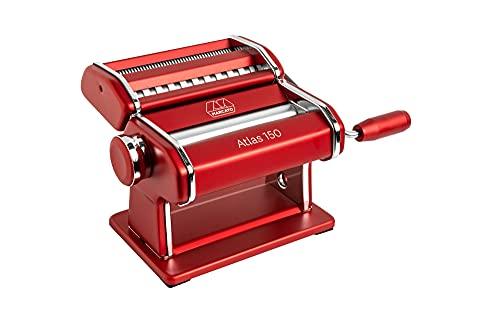 Marcato 1856400 Macchina per Pasta, Acciaio Inossidabile, Rossa