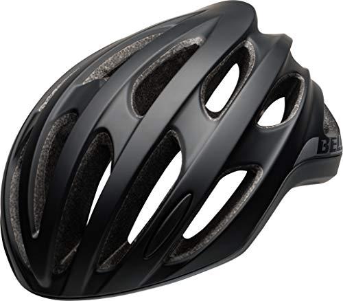 BELL Formula Casco de Ciclismo Road, Unisex Adulto, Negro Mate y Gris, M | 55-59cm
