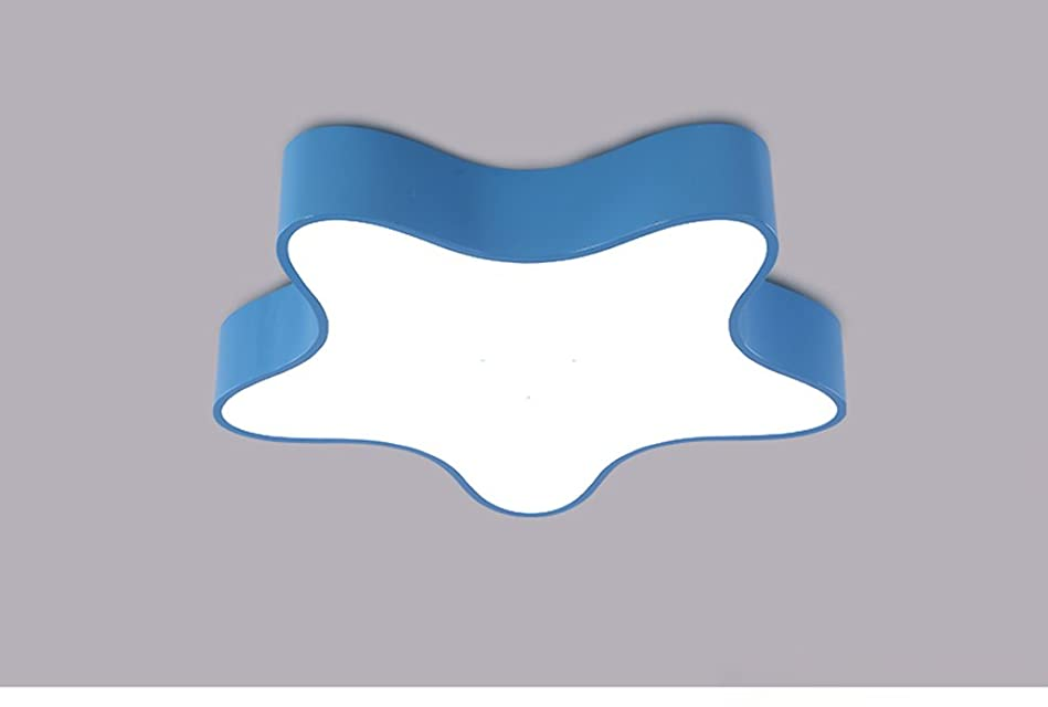 服略す属性YSYYSH 青いヒトデの天井灯は部屋ライト寝室ライトを導きましたファッション子供部屋のライト 寝室の装飾ライト