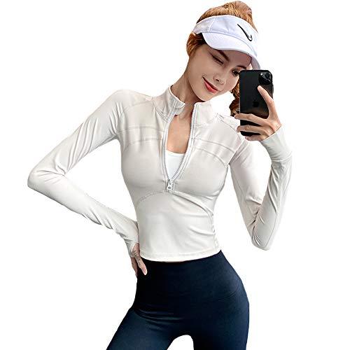 【Amazon限定ブランド】HONOUR FASHION トレーニングウェア 長袖 tシャツ レディース 吸汗速乾 フィットネス 指穴 スポーツ ランニング ヨガ ウェア; セール価格: ¥918 - ¥1,428