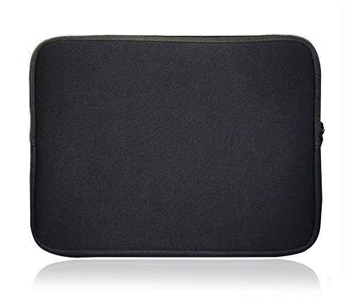 Sweet Tech Schwarz Neopren Schutzhülle Sleeve Passend für AlpenTab Alpenfenster 10.1 Zoll Windows Tablet PC