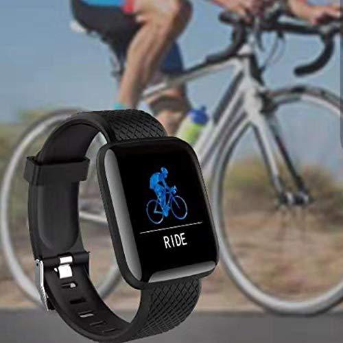 Olodui1 Pulsera Inteligente Unisex Casual Multifuncional de Forma Cuadrada con Bluetooth a Prueba de Agua Smartwatches