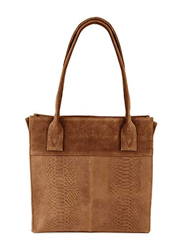 DSTRCT Portland Road Leren Dames Small Shopper Cognac