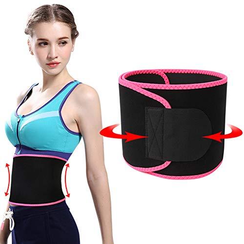 Heaviesk C/ómodo Entrenamiento Cintura Ejercicio Cintura Apoyo para Hombres Mujeres C/ómodo Fitness Deportes Protecci/ón de Vientre