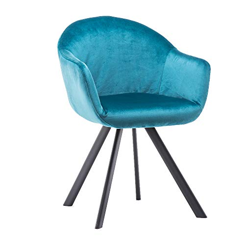 Marca Amazon - Movian Elbe - Silla de comedor, azul