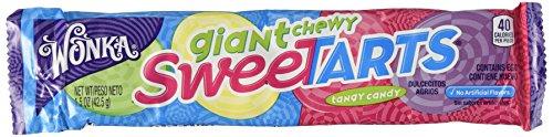 Wonka Giant Chewy Sweetarts - 1.5 Oz (Pack of 2)