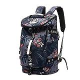 Kalesi Lightweight Travel Backpack Waterproof Duffel Bag for College Sport Gym