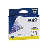エプソン エプソン対応純正インクカートリッジ ICY21 イエロー ICY21/53242198