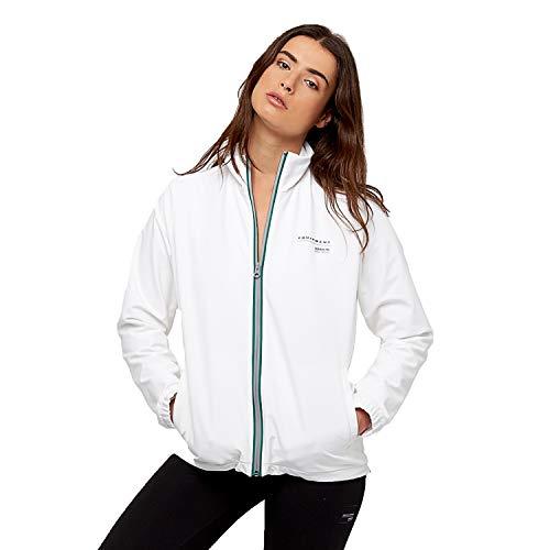 adidas Originals Damen Super Star Trainingsjacke (Weiß, Medium)