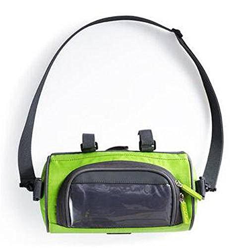 Candora Vélo imperméable Sacs sacoches écran Tactile Cyclisme Sacoche de téléphone pour vélo de Route Avant Tube Sac de Guidon Cylindre