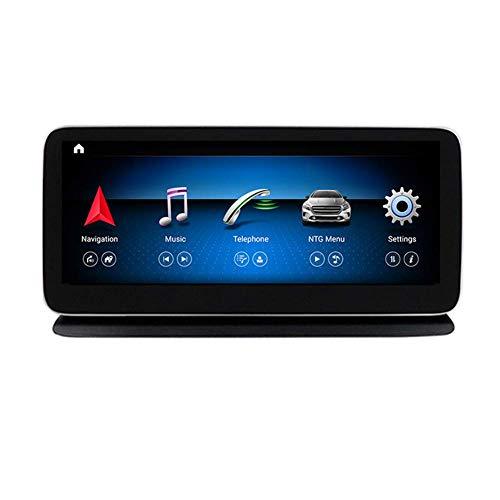 XXRUG Android Car Stereo Sat Nav para Mercedes Benz CLS Class W218 2011-2017 Unidad Principal Sistema De Navegación GPS SWC 4G WiFi BT USB Mirror Link Carplay Inalámbrico Incorporado
