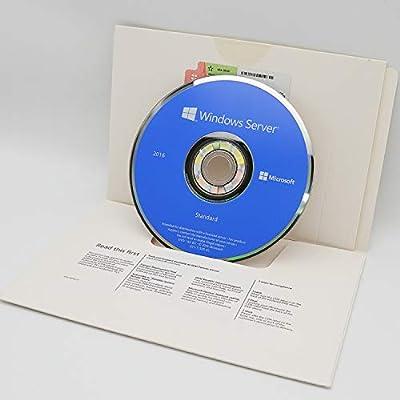 Windows Server 2016 Standard | 16-Core | 64-Bit | DVD | English
