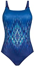 Amoena Women's Rome One-Piece Pocketed Mastectomy Swimsuit, Multi, 08B