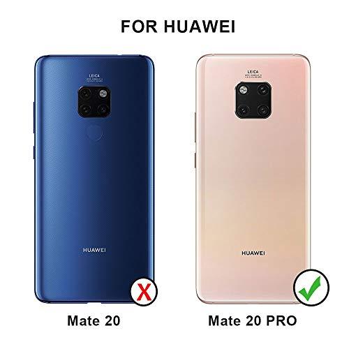 QiMai 2 Stück Panzerglas für Huawei Mate 20 Pro Kamera HD Schutzfolie UV -Glas, Kinderleicht anbringen - 2