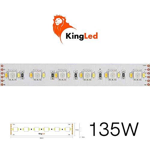Kingled – 5M Striscia LED RGB+CCT 135W 24V- Serie Speciale 22.5W/M, PCB 15mm, 300 SMD 5050 + 600 SMD 3014, Cod 2398