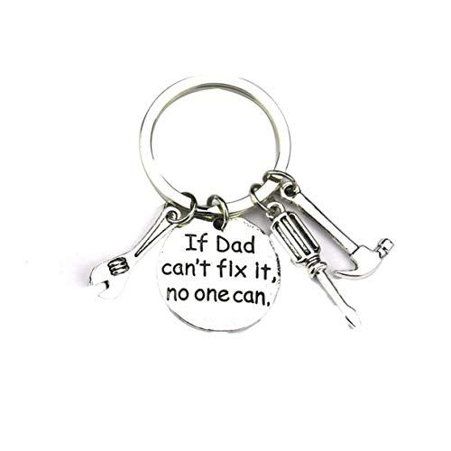 Morninganswer Gadget Metal Key Ring Zinc Alloy Metal Pendant Keychain Beautiful Inscription Tag